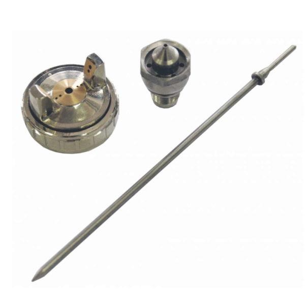 Сменный комплект для краскопульта HUBERTH R500 (игла, дюза, воздушная головка) 1,7 мм