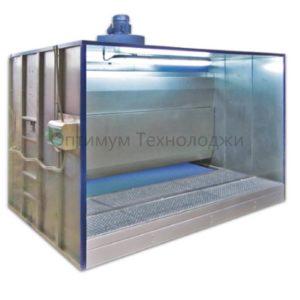 ОКВ 0220.81 окрасочная камера с водяной завесой и полом