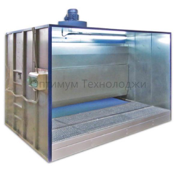 ОКВ 0225.81 окрасочная камера с водяной завесой и полом